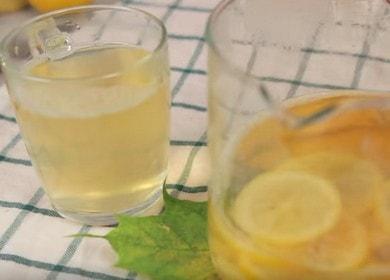 Чай с имбирем и лимоном — ароматный и простой рецепт