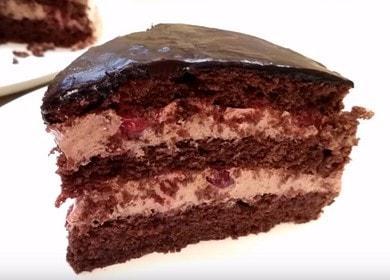 Вкусный шоколадный торт: рецепт с фото пошагово.