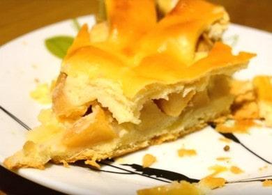 Классический яблочный пирог из дрожжевого теста — проверенный временем рецепт