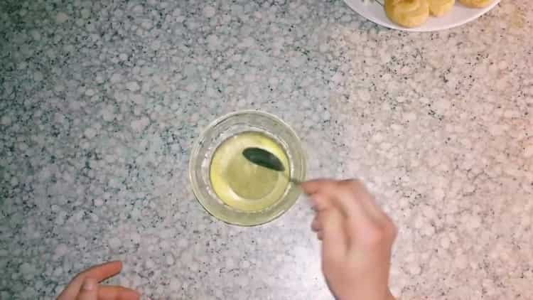 Для приготовления берлинского печенья приготовьте прапитку