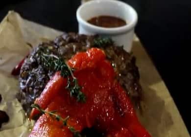 Бифштекс из говядины по пошаговому рецепту с фото