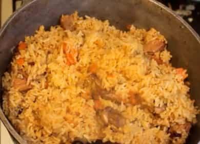 Узбекский плов из свинины по пошаговому рецепту с фото