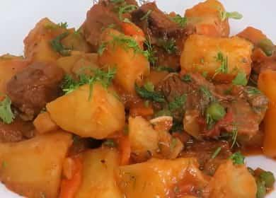 Как готовить жаркое из говядины с картошкой