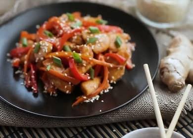 Курица в соусе терияки по пошаговому рецепту с фото