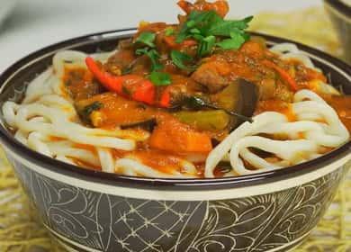 Вкуснейший лагман из говядины — секреты узбекской кухни