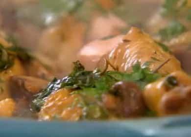 Фрикасе из курицы с картошкой - рецепт от Гордона Рамзи