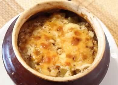 Запеченная говядина с картошкой в горшочках в духовке