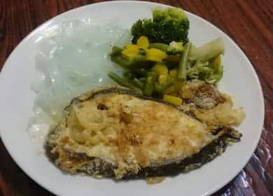 Стейк зубатки, запеченный в духовке — очень вкусный рецепт приготовления
