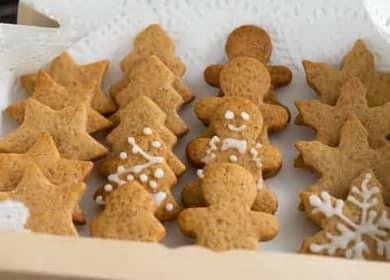 Имбирное печенье - рецепт пряничных человечков