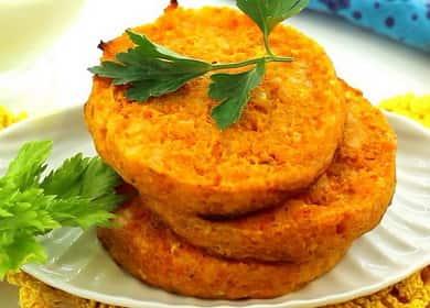 Морковные котлеты: рецепт с фото пошагово