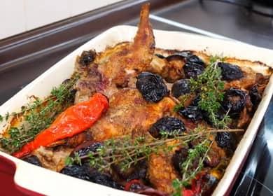 Рецепт приготовления целого кролика в духовке с фото