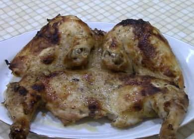 Ароматный цыпленок табака в духовке по проверенному рецепту