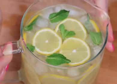 Классический лимонад в домашних условиях — лучшее спасение от жары