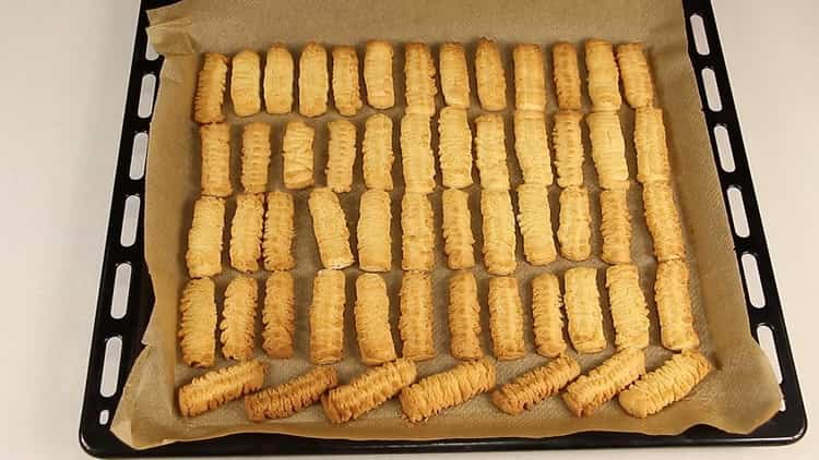 Песочное печенье через мясорубку по пошаговому рецепту с фото