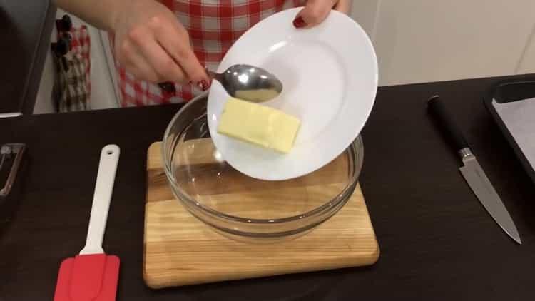 Для приготовления печенья с шоколадной крошкой, подготовьте ингредиенты