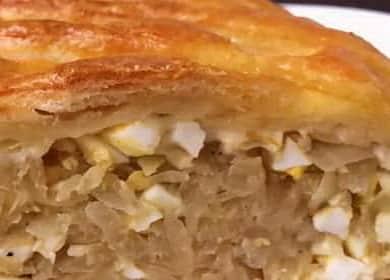Рецепт пирога с капустой и яйцом в духовке — бюджетно и очень вкусно