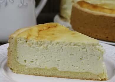 Открытый пирог с творогом — очень вкусный, нежный и воздушный