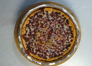 Пирог с брусникой по пошаговому рецепту с фото