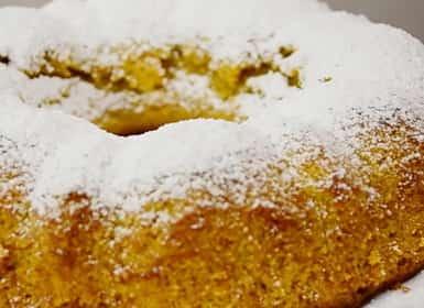 Пирог из тыквы по пошаговому рецепту с фото