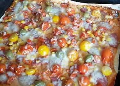 Вкусная тонкая пицца из лаваша в духовке — всего за 20 минут