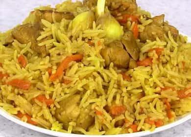 Рассыпчатый, вкусный и питательный плов с курицей и овощами в мультиварке. Правильный сорт риса для рассыпчатого плова. Полезные советы и рекомендаци.