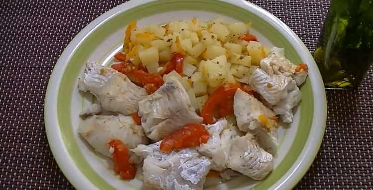 Рыба с овощами в пароварке - диетический и вкусный рецепт