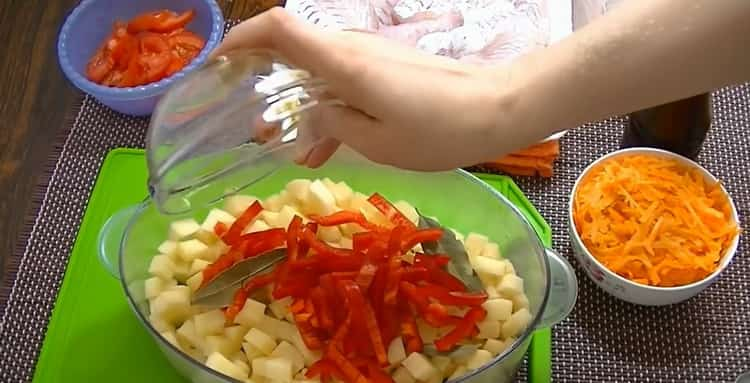 Для приготовления рыбы в пароварке. подготовьте ингредиенты
