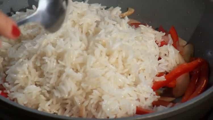Вкусная рыба с рисом - результат как в ресторанах