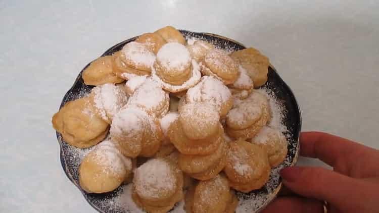 слоеное печенье готово