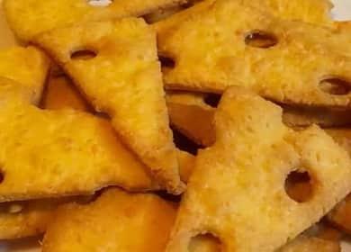 Сырное печенье — очень простой рецепт крекера