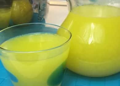 Лимонад из апельсинов вместо фанты