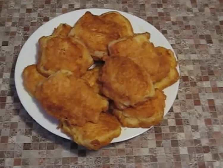 филе пангасиуса готово