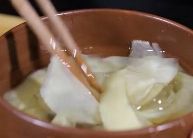 Маринованный имбирь по пошаговому рецепту в домашних условиях с фото