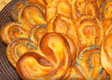 Готовим вкуснейшие булочки сердечки по пошаговому рецепту с фото.