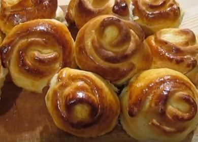 Готовим аппетитные булочки с творогом в духовке по рецепту с фото.