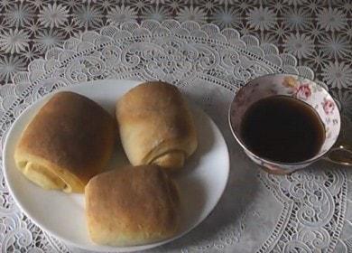 Готовим простые и быстрые булочки по пошаговому рецепту с фото.