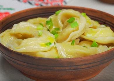 Вкусные вареники с картошкой и ароматным жареным луком