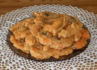 Вкусная горбуша в кляре — простой рецепт жареной рыбы