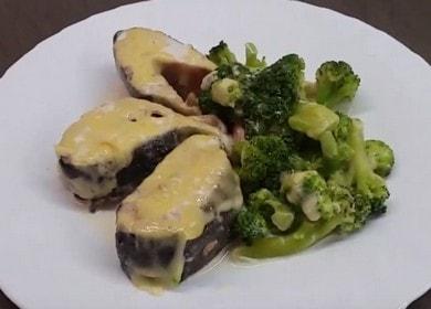 Аппетитная горбуша в сливках в духовке: пошаговый рецепт с фото.
