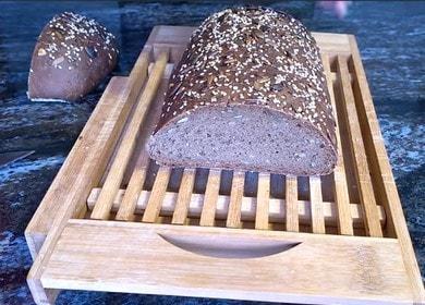 Вкусный «Дворянский» заварной хлеб с семечками