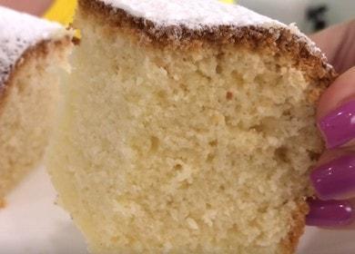 Готовим вкусный кекс на кефире в духовке: рецепт с фото и видео.
