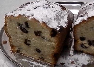 Готовим вкусный кекс на майонезе с изюмом по пошаговому рецепту с фото.