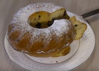 Готовим вкусный кекс на сметане в духовке по пошаговому рецепту с фото.