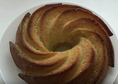Готовим вкуснейшией кекс на сметане по пошаговому рецепту с фото.