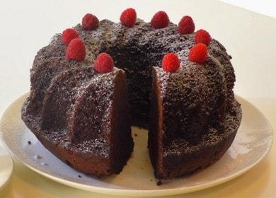 Готовим очень вкусный кекс с какао по пошаговому рецепту с фото.