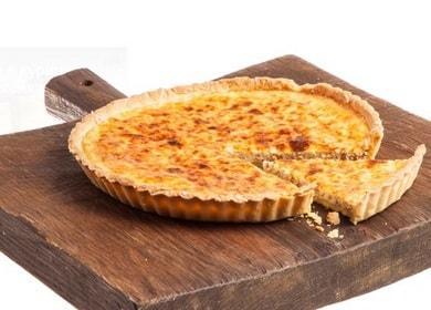 Киш лорен — необычайно вкусный французский пирог