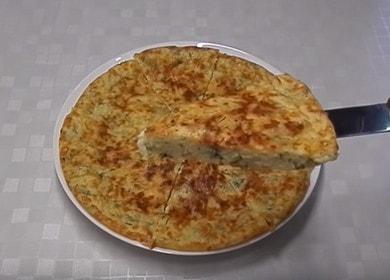 Готовим вкусный ленивый хачапури на сковороде по пошаговому рецепту с фото.