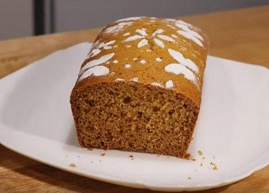 Готовим ароматный медовый кекс по пошаговому рецепту с фото.