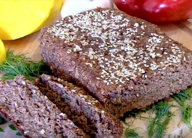 Готовим полезный отрубной хлеб по пошаговому рецепту с фото.