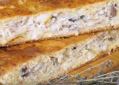 Пирог со скумбрией — очень вкусный и сочный рецепт